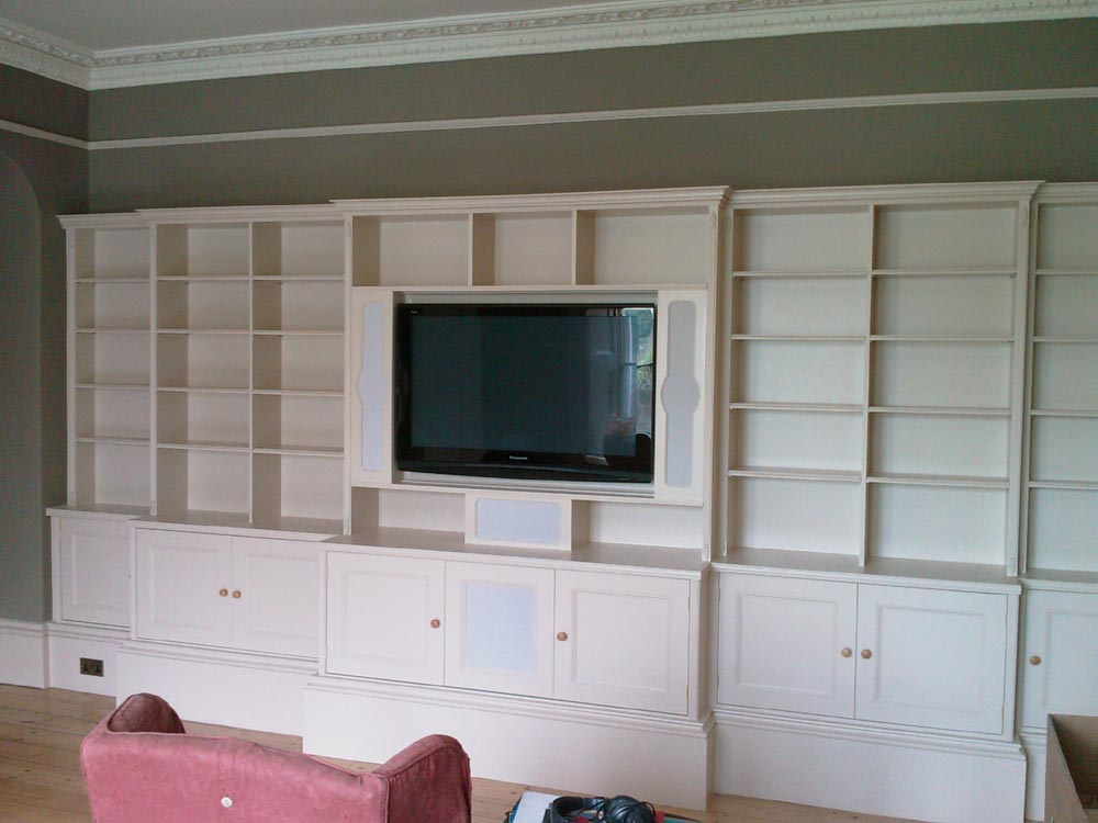 Custom Built Entertainment Wall Units Furniture Design Plans