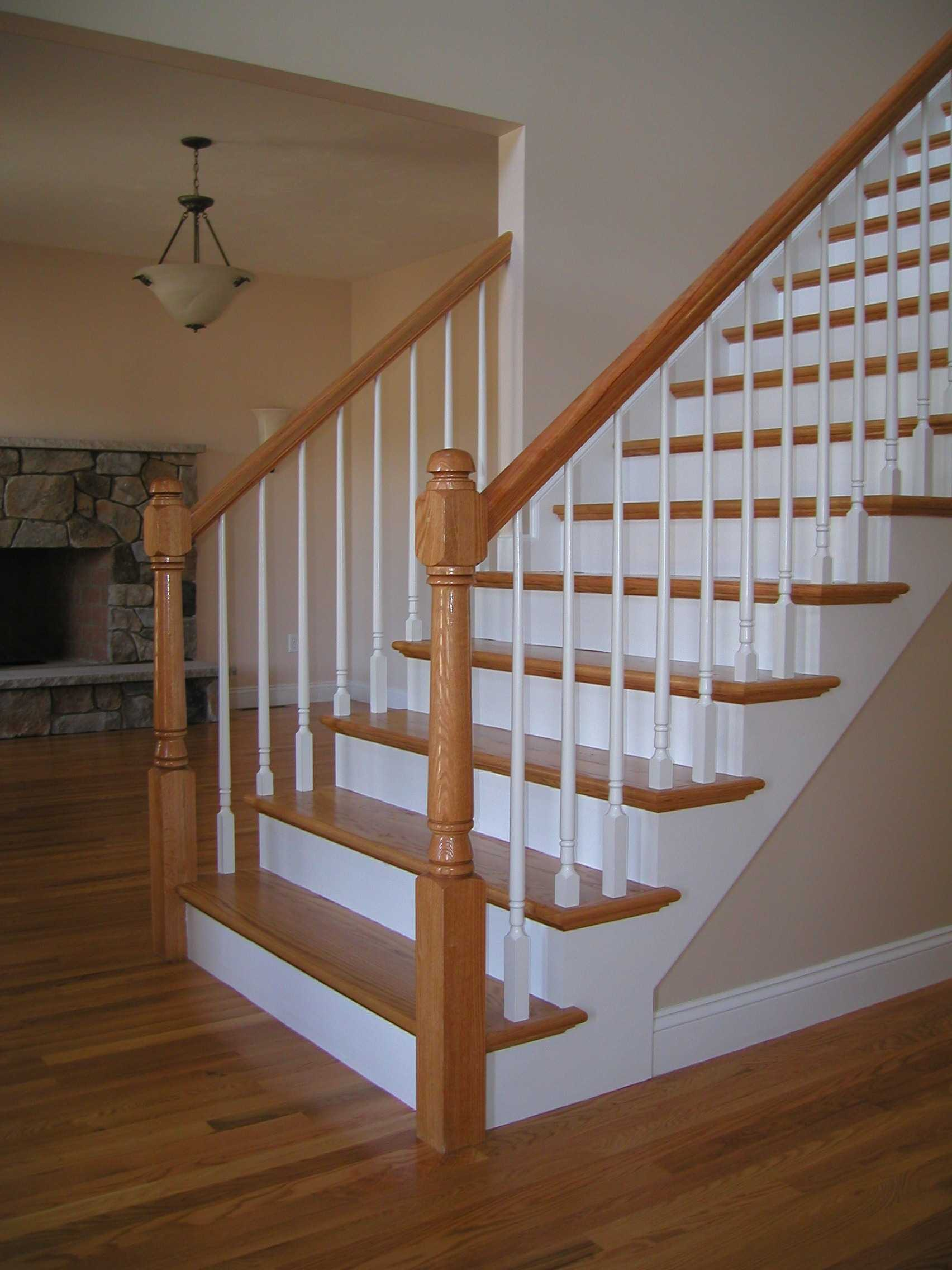 Wood Stairs Designed Built Installed Repaired NYC New York City NY Brooklyn  Manhattan Staircase Staircases Stair Case Stair Cases Stairs Wood Wooden ...